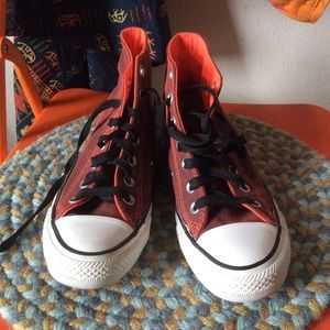 Converse Shoes - Converse High Tops Muted Orange
